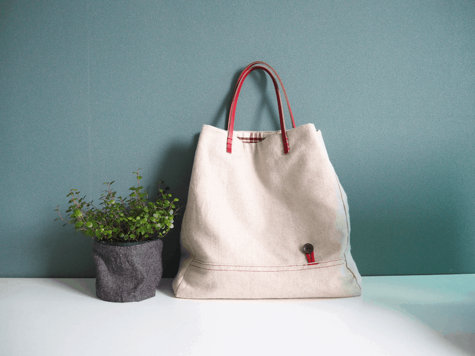 Crafts to Make and Sell - Lined Canvas Tote Bag DIY