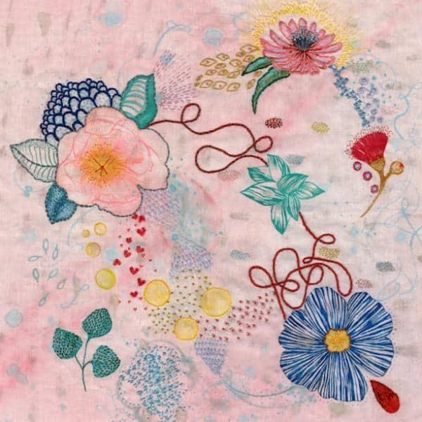 Fleur Wood Art - Embroidery Paintings