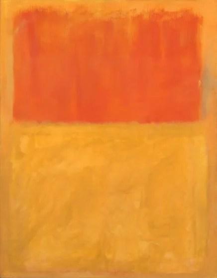 Mark Rothko painting