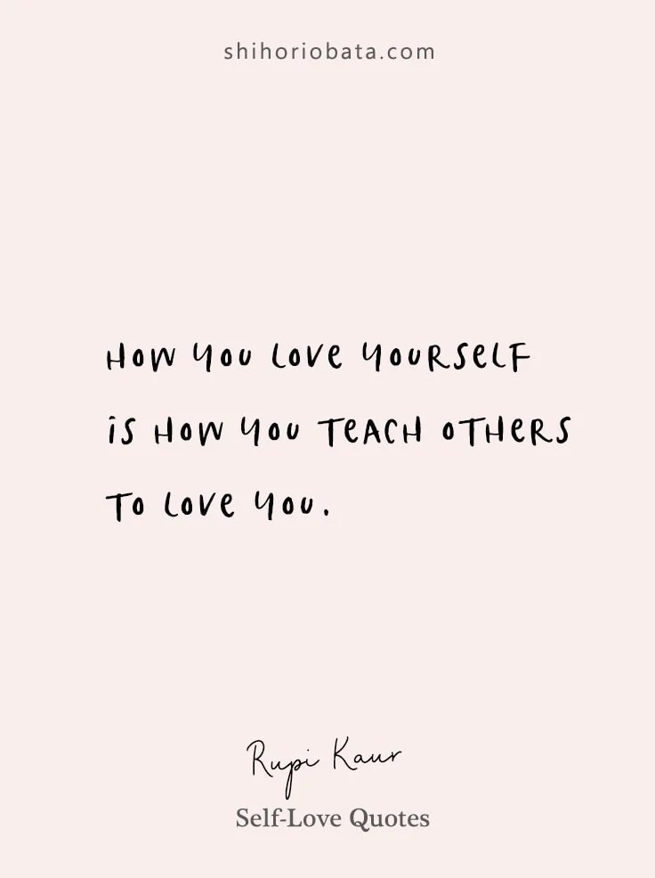 self love quotes for a beautiful life