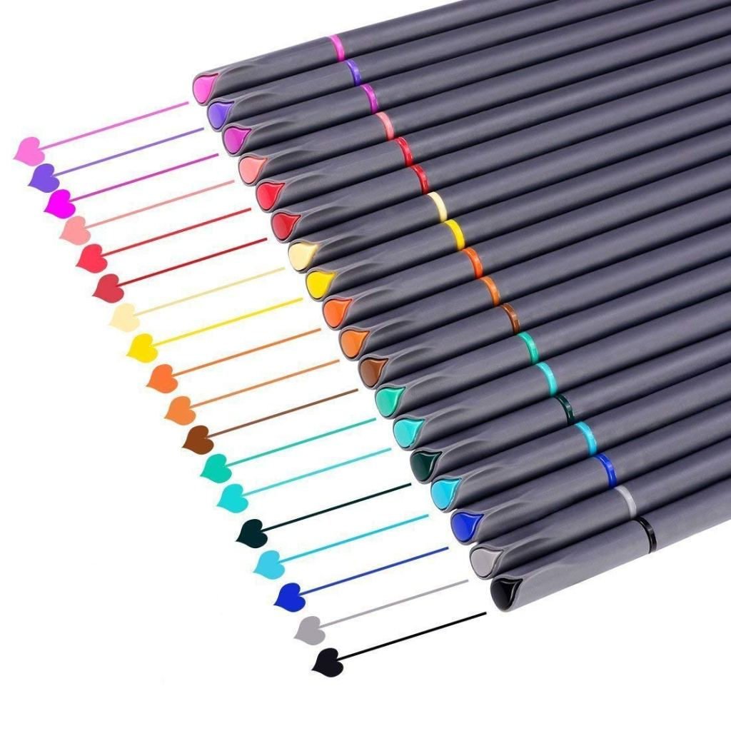 Desk Must Haves - Colorful Pens