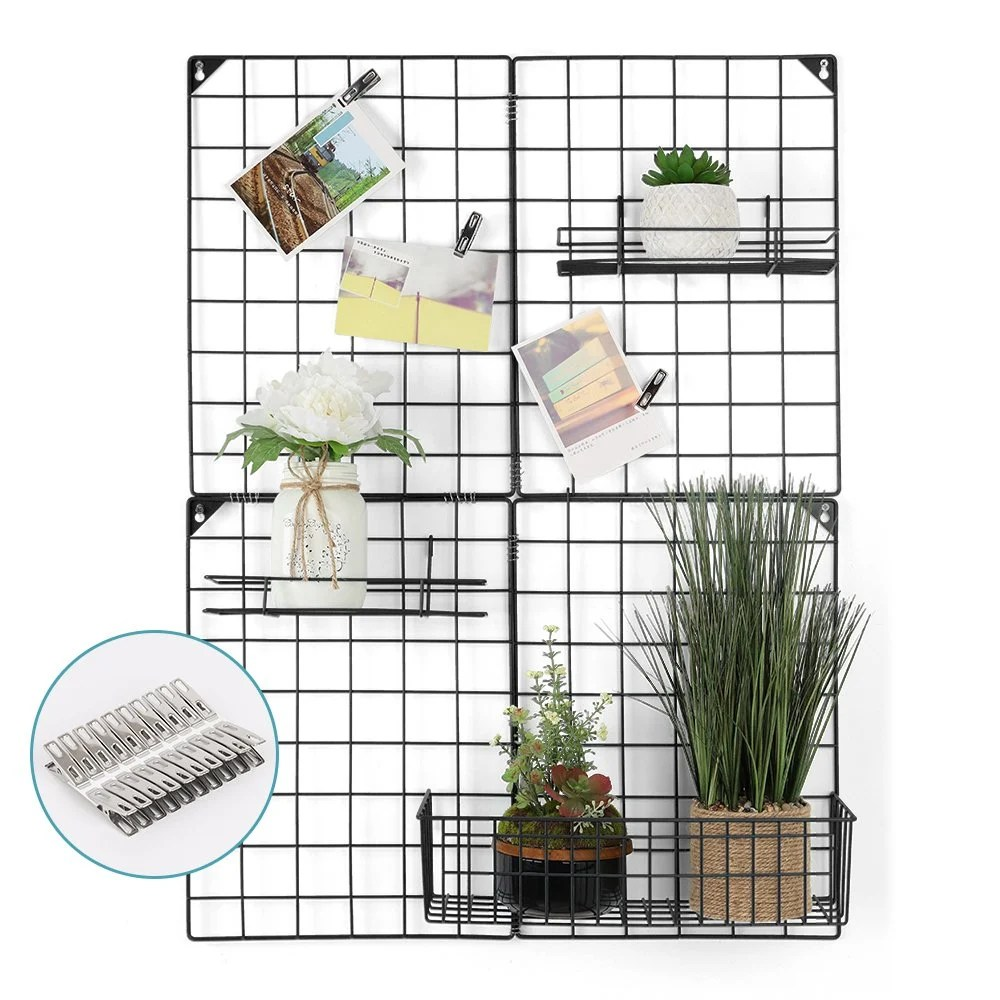 Desk Bulletin Wall Grid Organizer