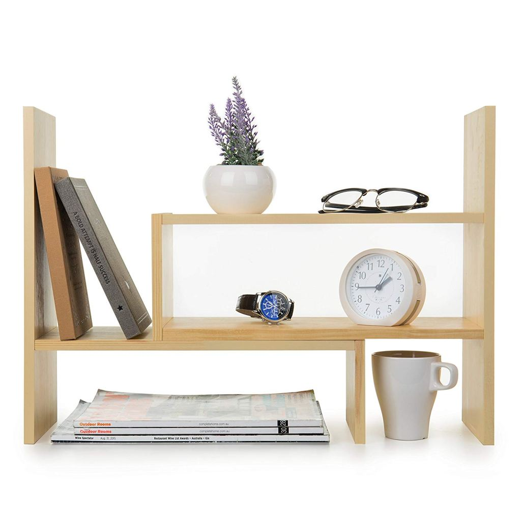 Desk Shelving Unit Organizer