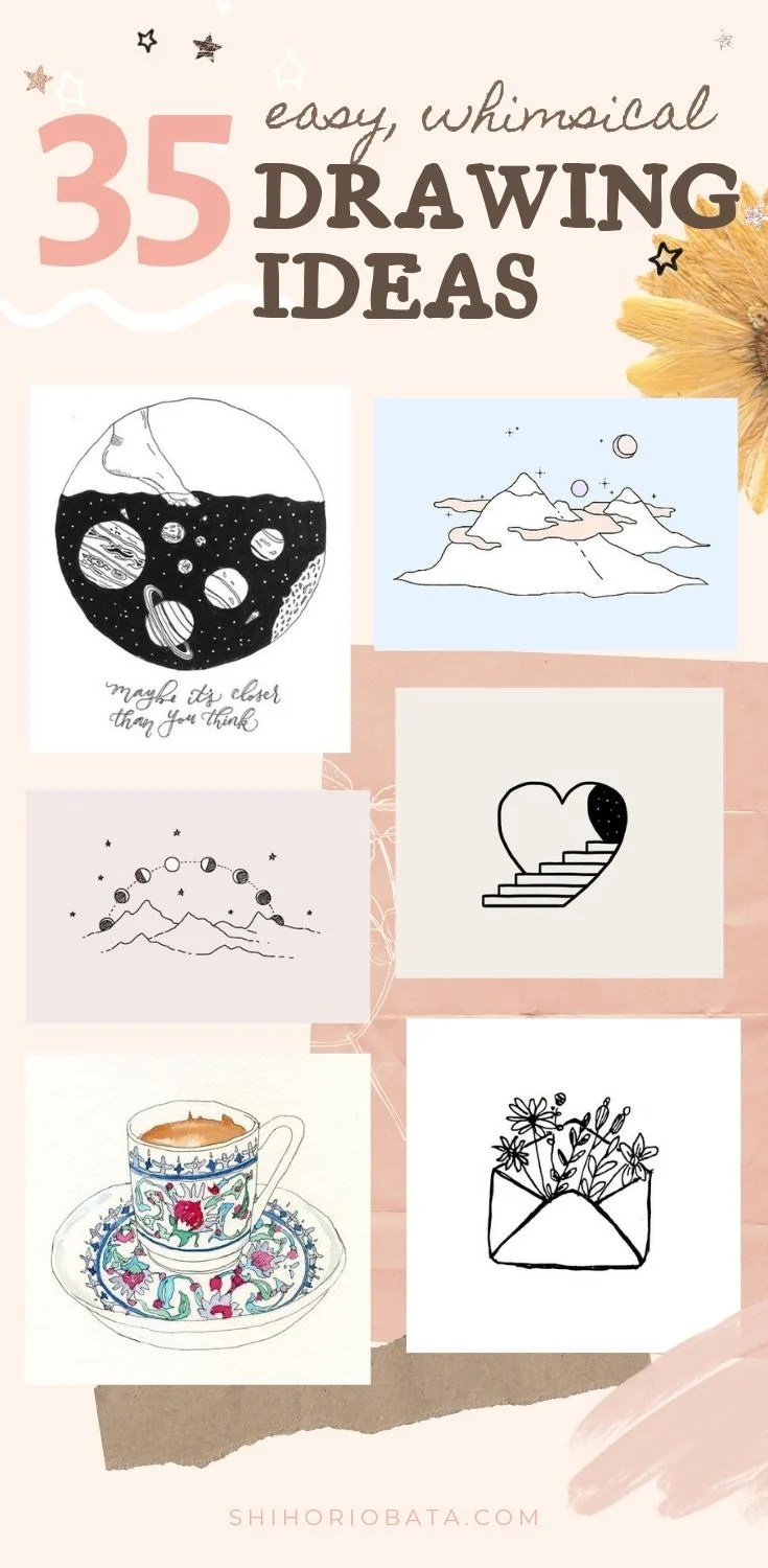 35 Easy Whimsical Drawing Ideas