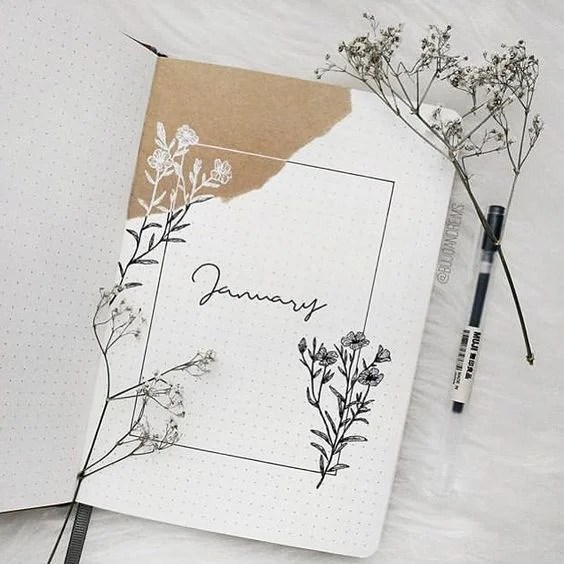 Minimalist Bullet Journal Ideas
