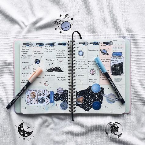 Way to Fill your Notebook
