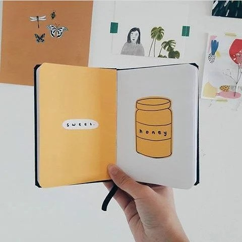 Simple Journal Drawing Idea