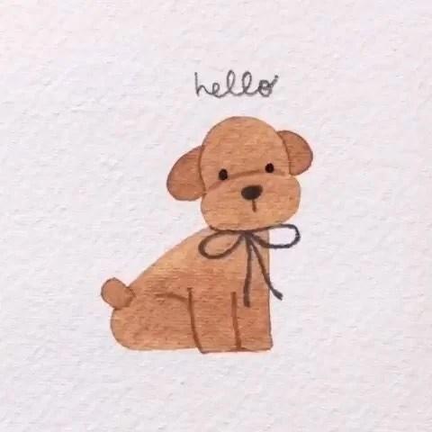 Drawing idea Dog