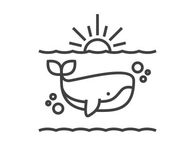 Whale Drawing Idea - Animals