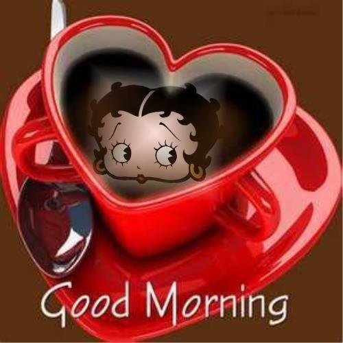 Betty Boop Good Morning Images