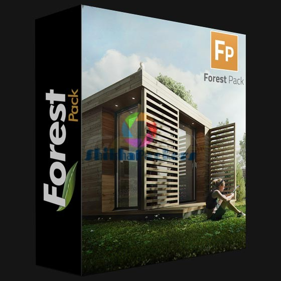 ITOO FOREST PACK PRO 5.41 FOR 3DS MAX 2010-2018 WIN