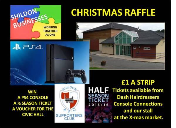 Shildon Businesses Christmas Raffle