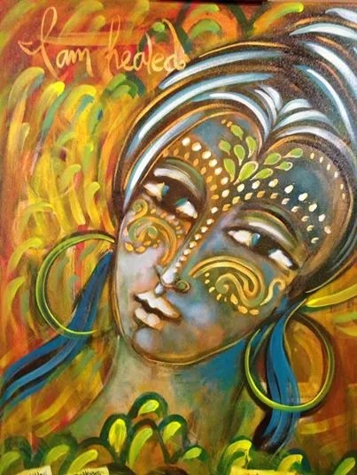 Shiloh Awaken Painting