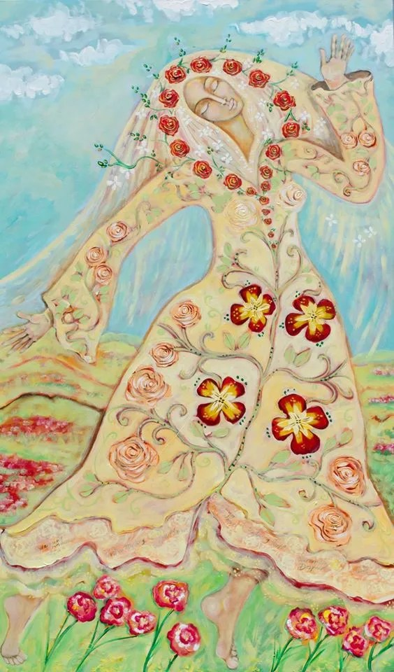 Our Lady of the flowering Earth