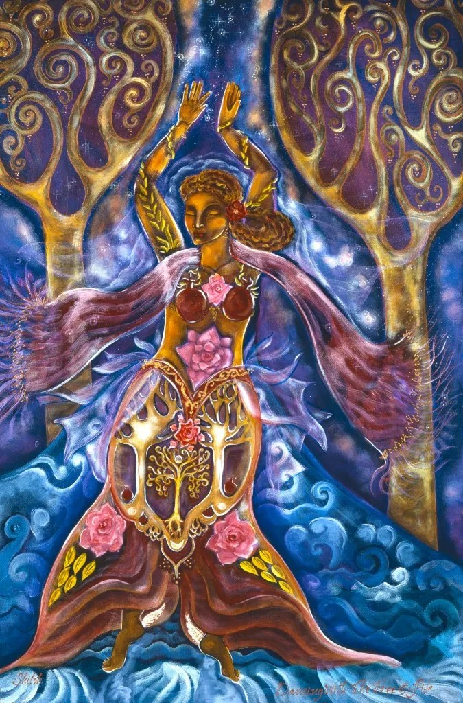 DANCER of Self Trust - Dancing with the Tree of Life