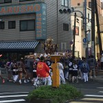 桜川にある御嶽神社の祭礼。御神輿を一緒に担ごう!
