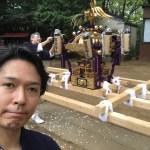 石屋のけんすけ初のお神輿を担いできました!