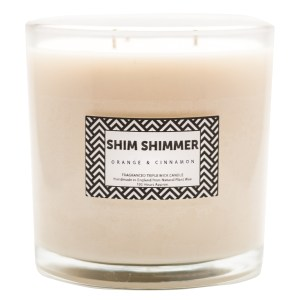 3 Wick Candle - Shim Shimmer Luxury Scented Candles