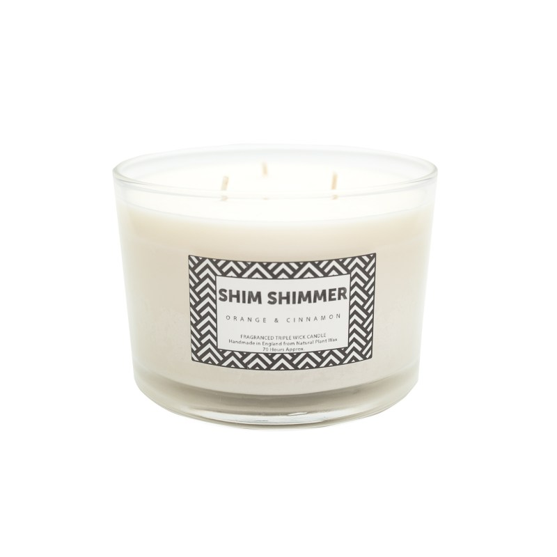 3 wick candle shim shimmer luxury scented candles gifts fragnraces reed diffusers room sprays organic soaps