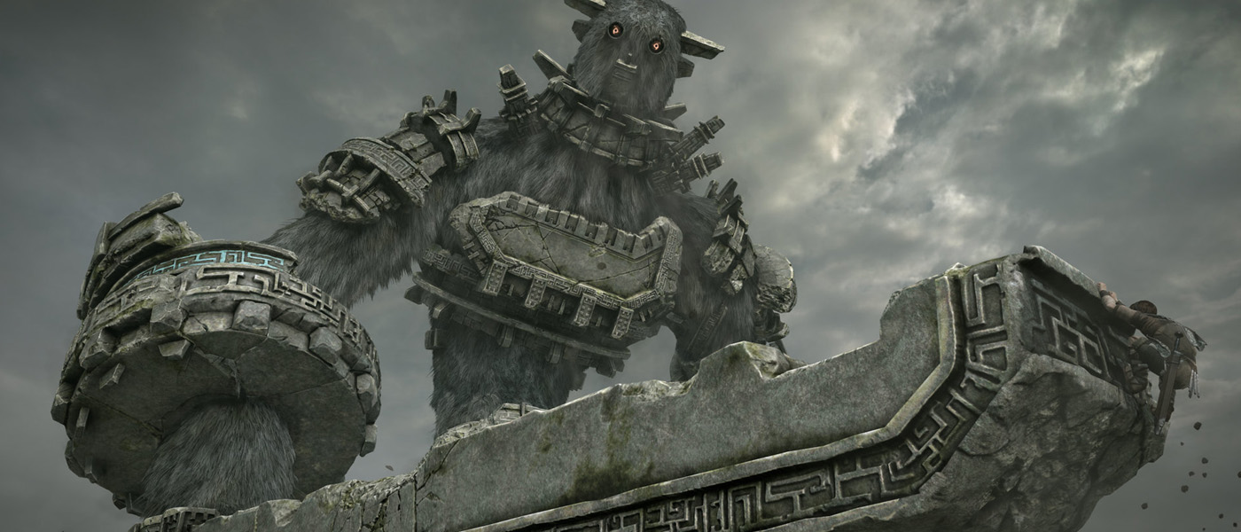 Win Shadow of the Colossus on PS4, plus a keyring!