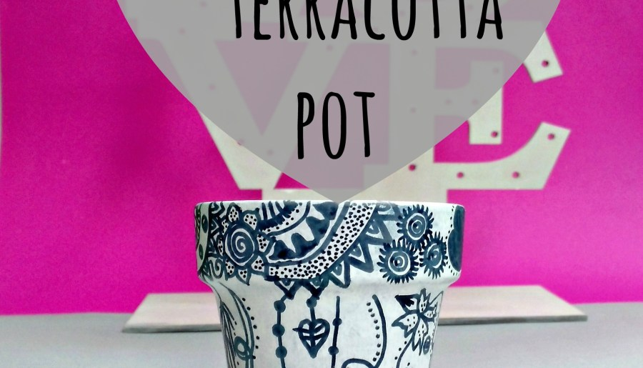 Learn how to Doodle Terracotta Pot