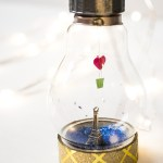 Light Bulb Miniature - Valentine's Day DIY