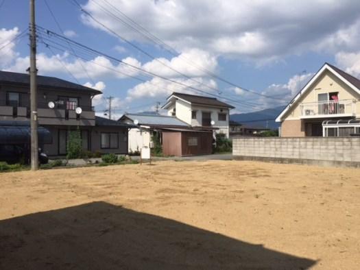 敷地内から接道方向 R1.7.17撮影