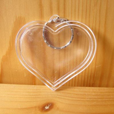 photo keyring heart2