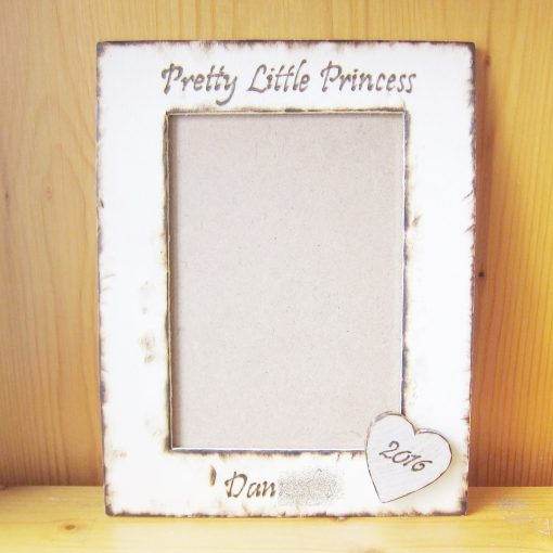 wedding photo frame heart2