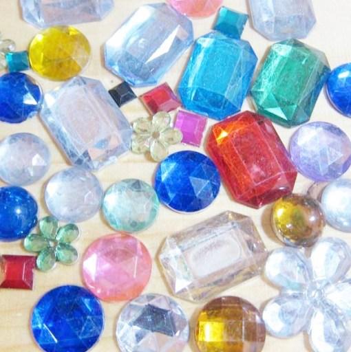 acrylic gem