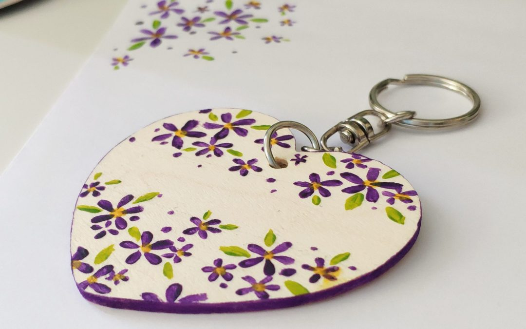 2018 Giveaway (4) – Thanksgiving Personalised Keyring + 30% off coupon