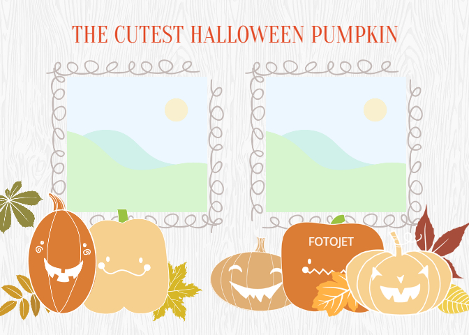 Kids Party Gifts / Invitation: Free Printable Halloween Photo Cards
