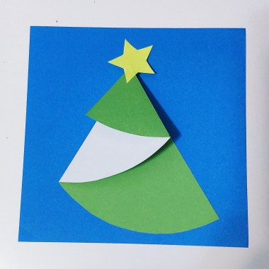 fold x'mas tree