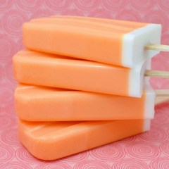 Creamsicle Cubes