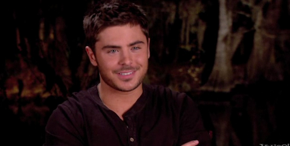 Zac Efron: Behind-the-Scenes of 'The Lucky One' (Video)