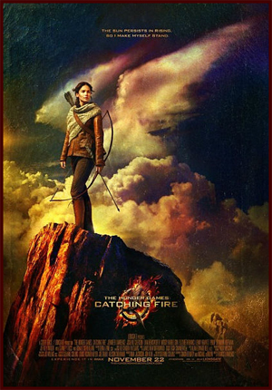 Jennifer Lawrence Stands Tall as Katniss in New 'The Hunger Games: Catching Fire' Poster