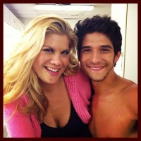 "Tyler Posey: Shirtless Guest Star on ""The Exes"""