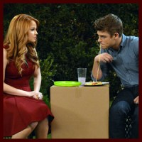 "Garrett Clayton is Debby Ryan's Blind Date on An All New ""Jessie"""