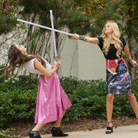 "Kelli Berglund, Olivia Holt, G Hannelius & More Visit Lucasfilm to Celebrate ""Star Wars Rebels"""