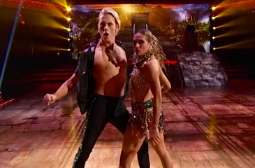 DWTS Turns It Up with Latin Night – Watch Riker, Nastia, Willow & Rumer Dance