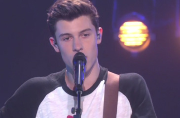 """Shawn Mendes Performs """"Stitches"""" on the Ellen Show"""