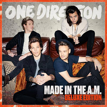 """One Direction Announce New Album 'Made in the A.M' & Song """"Infinity"""""""