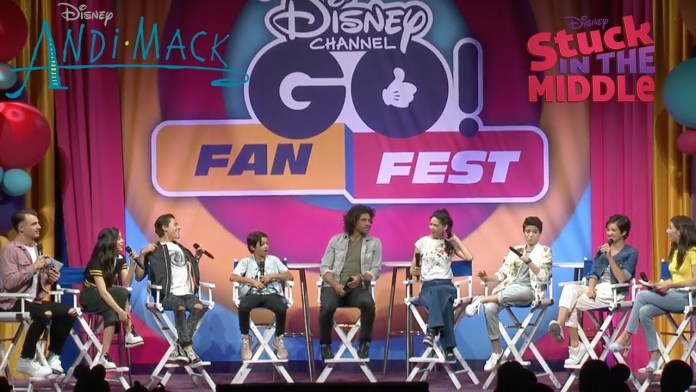 """The Cast of """"Andi Mack"""" & """"Stuck In The Middle"""" Have a Blast at Disney Channel GO! Fan Fest – Watch the Q&A"""
