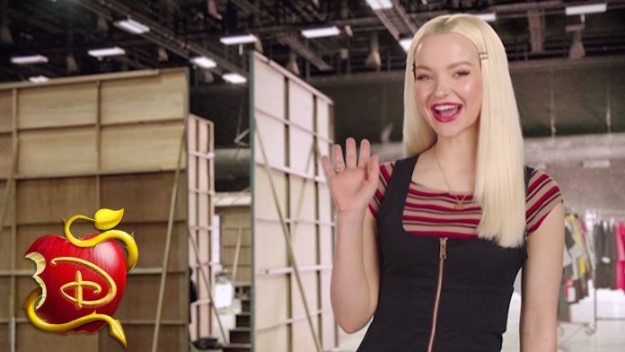 """Dove Cameron Shares """"Descendants 3"""" Rehearsal Footage, Character Update & Fiery New Logo"""