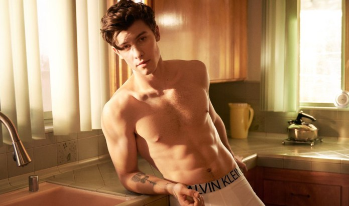 """Shawn Mendes Teases Sexy New Calvin Klein """"My Calvins"""" Campaign & The Internet Loses It"""