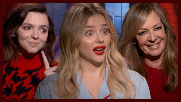 Chloe Grace Moretz, Allison Janney & Elsie Fisher Dish on 'The Addams Family' & Being Recognized For Their Voices
