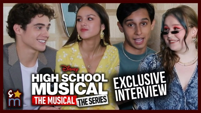 """The Cast of """"High School Musical: The Musical: The Series"""" Reveal Favorite HSM Easter Eggs & Play """"Most Likely To"""""""