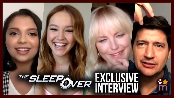 The Cast of Netflix's 'The Sleepover' Reveal Funniest Bloopers & Their Fight Songs
