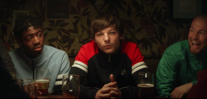"""Louis Tomlinson Premieres """"Don't Let It Break Your Heart"""" Music Video"""