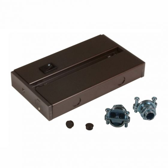 american lighting alc box hardwire junction box for led under cabinet light fixture